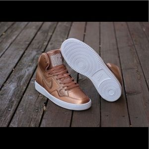 Nike Son of Force - Rose Gold Sneakers